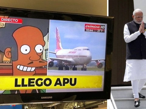 Simpsons character Apu used to announced G20 arrival of Indian Prime Minister