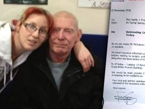 Woman racks up £35,000 on foreign hospital bills for dad who fell off scooter