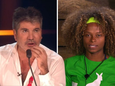 Simon Cowell takes epic swipe at Fleur East for drinking 'worm juice' on I'm A Celeb after X Factor success