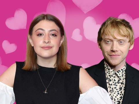 Who is Rupert Grint's girlfriend Georgia Groome and what films has she been in?