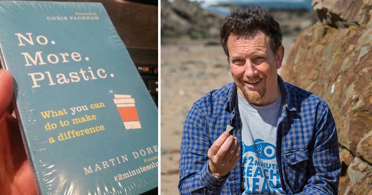Book about scrapping plastic arrives wrapped in plastic