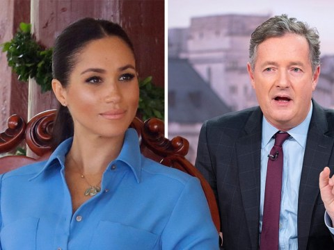 Meghan Markle is 'acting her way to the top' says Piers Morgan