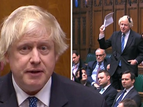 Boris Johnson urges people to reject PM's 'national humiliation' Brexit
