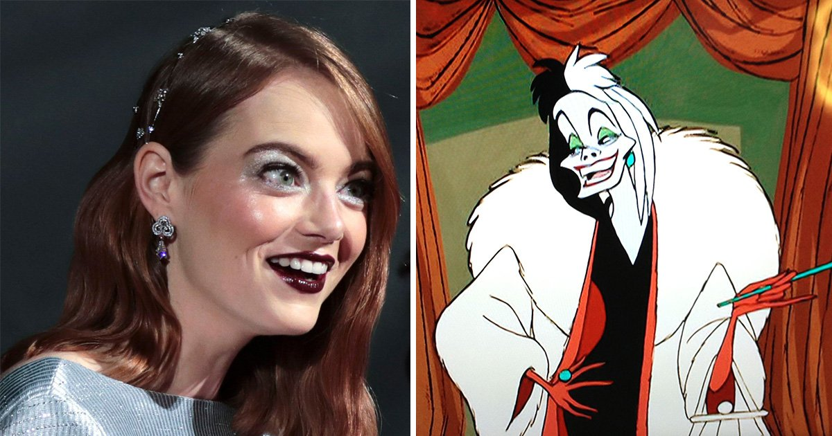 Emma Stone is set to play a 'punk' Cruella de Vil in new origin movie