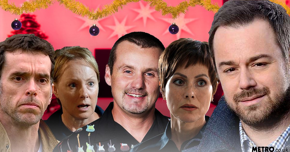 When are EastEnders, Coronation Street, Emmerdale and Hollyoaks on over Christmas?