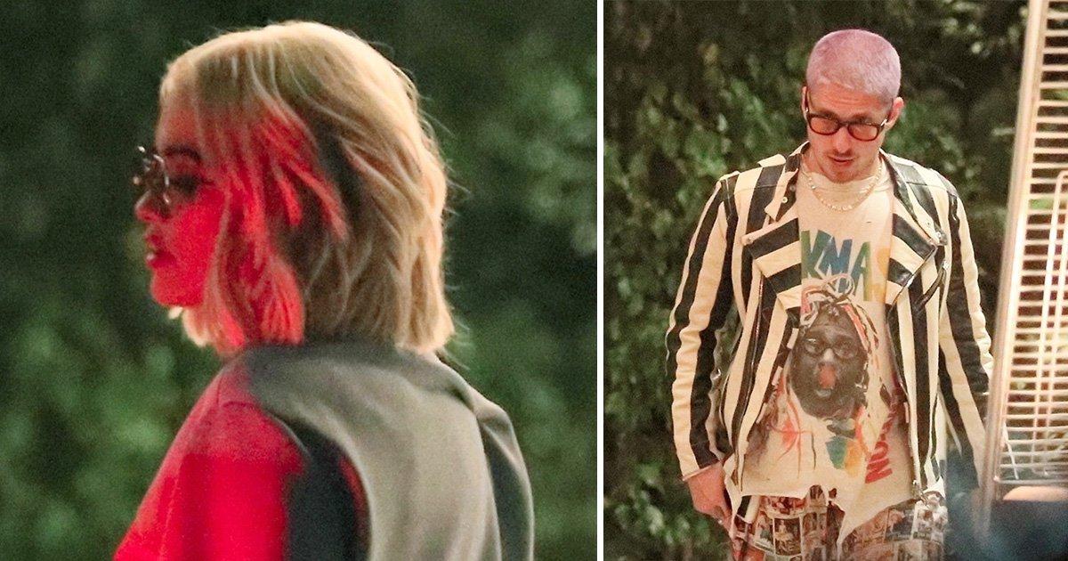 Rita Ora reunites with ex Andrew Watt in late night hotel visit after Andrew Garfield dating rumours