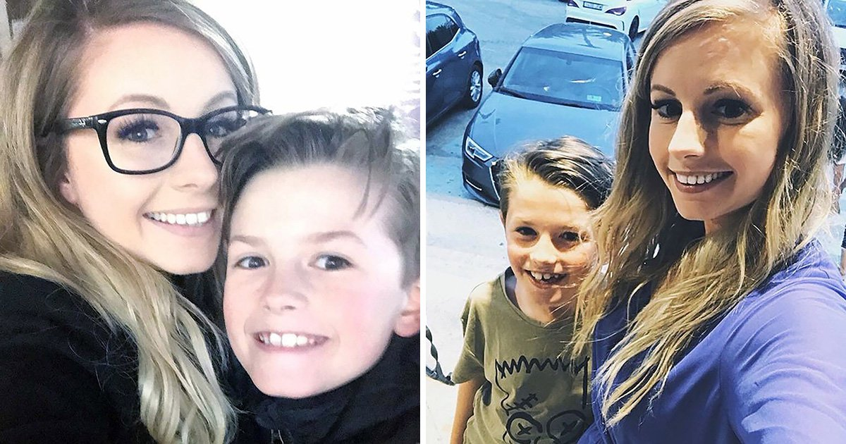 Schoolboy steers car to safety after mum has fit behind the wheel