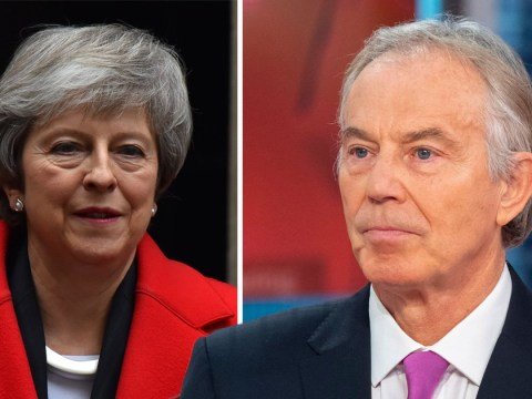 Theresa May 'heading for brick wall at speed', says Tony Blair
