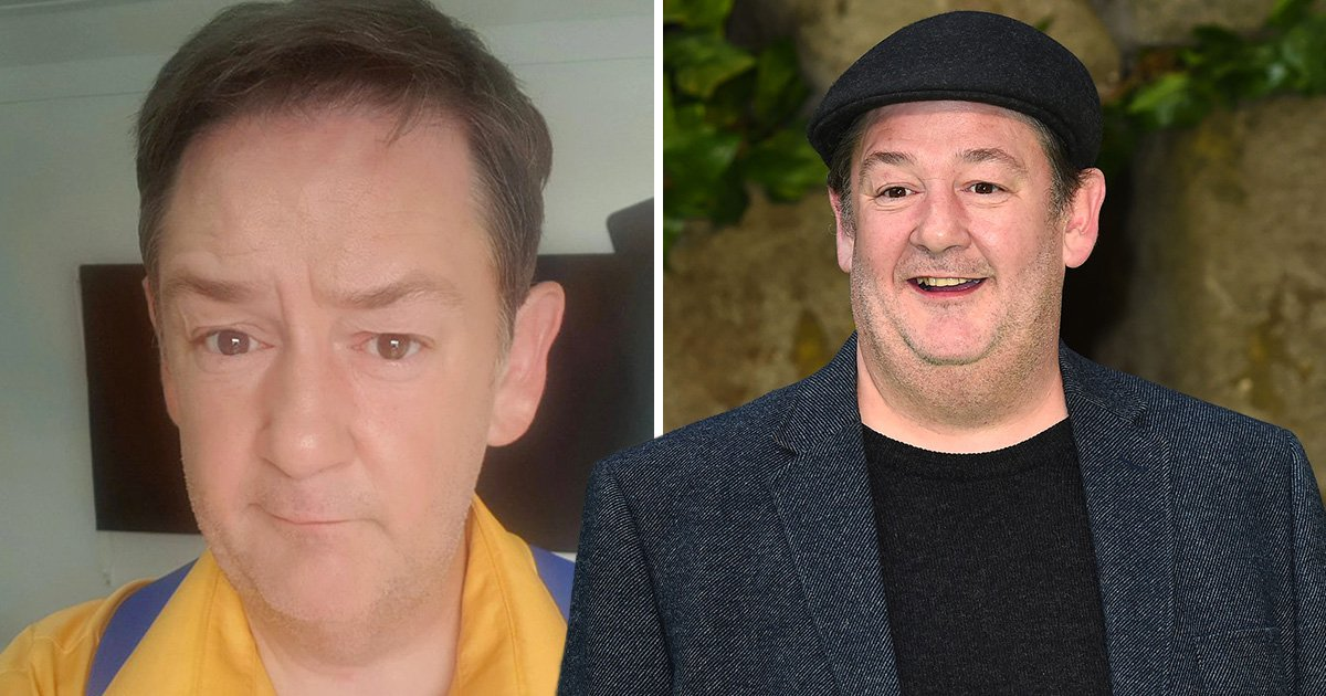 Johnny Vegas admits he used slimming app on 'shocking' weight loss photo