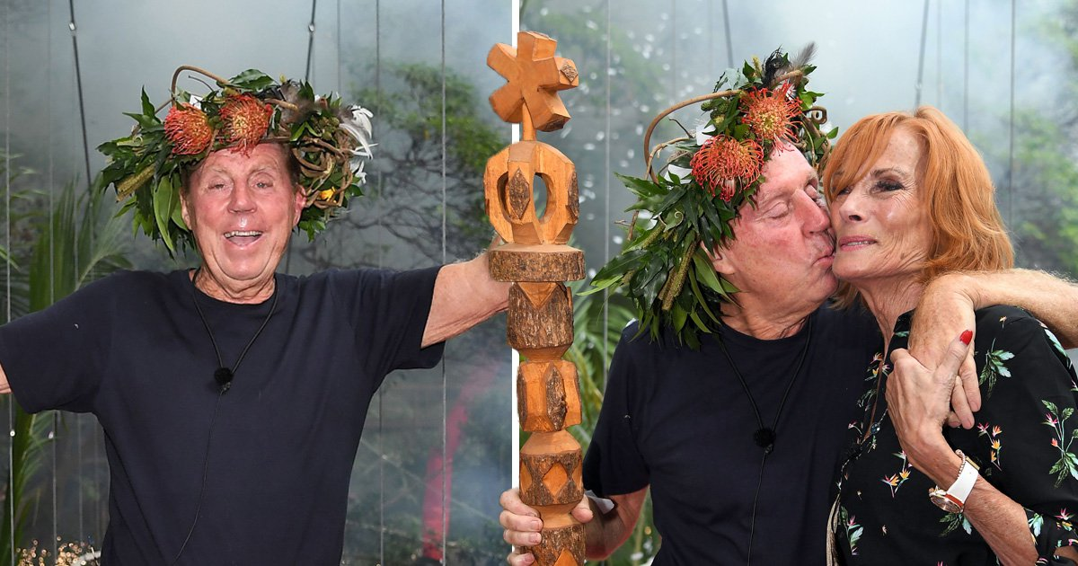 Harry Redknapp wins I'm A Celebrity as he's crowned king of the jungle in emotional finale