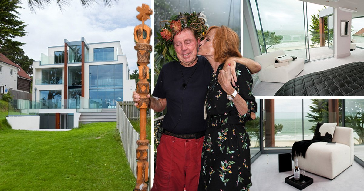 Inside Harry Redknapp's £3.5million house fit for a jungle king as he win's I'm A Celebrity