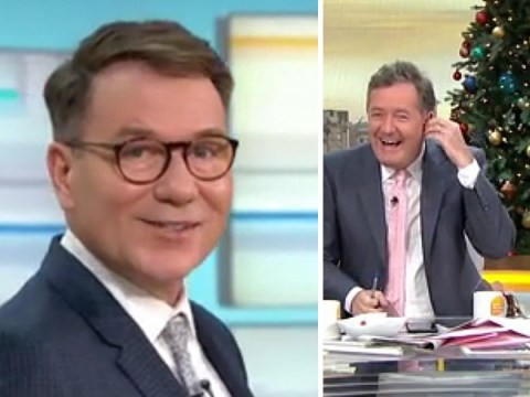 Richard Arnold storms off as Piers Morgan gets his Good Morning Britain appearance cut