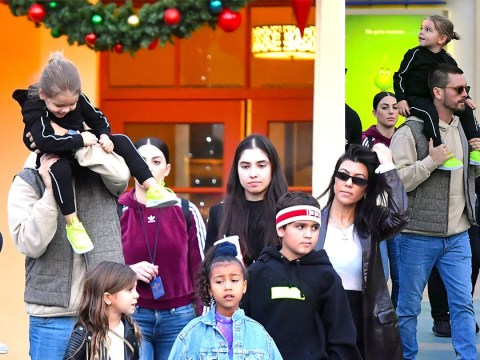 Kourtney Kardashian and Scott Disick ace co-parenting on adorable family day at Universal Studios