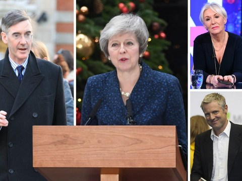 Which Tory MPs have sent Theresa May no confidence letters?