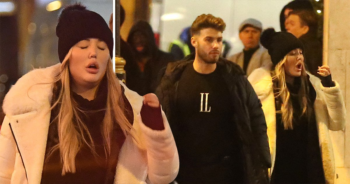 Charlotte Crosby sings her heart out at karaoke until 3.30am on boozy night out