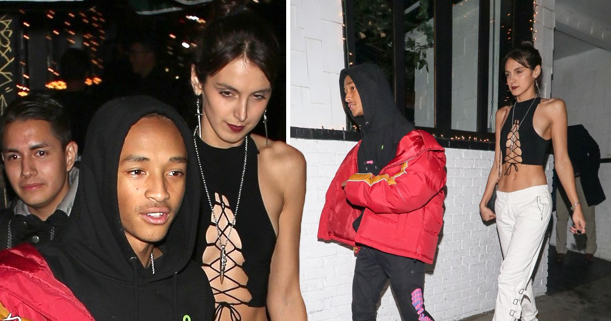 Jaden Smith parties with mystery woman after confirming Tyler, The Creator is his boyfriend again