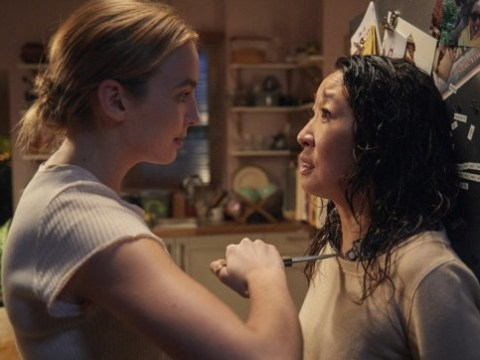 Killing Eve's Villanelle nurses wounds as first set of series 2 pictures reveal stabbing aftermath