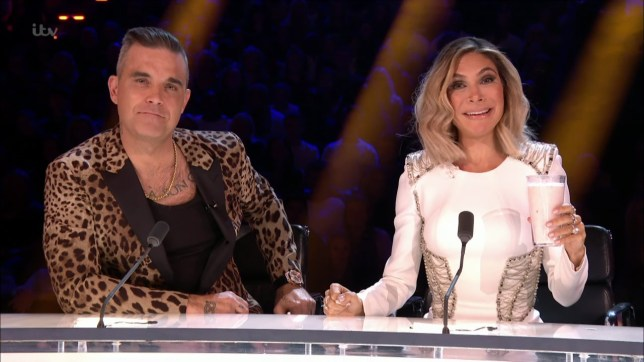 Celebrities take part in 'The Jungle X Factor' on 'I'm a Celebrity...Get Me Out of Here!'. Broadcast on ITV1 Featuring: Robbie Williams, Ayda Field When: 25 Nov 2018 Credit: Supplied by WENN **WENN does not claim any ownership including but not limited to Copyright, License in attached material. Fees charged by WENN are for WENN's services only, do not, nor are they intended to, convey to the user any ownership of Copyright, License in material. By publishing this material you expressly agree to indemnify, to hold WENN, its directors, shareholders, employees harmless from any loss, claims, damages, demands, expenses (including legal fees), any causes of action, allegation against WENN arising out of, connected in any way with publication of the material.**