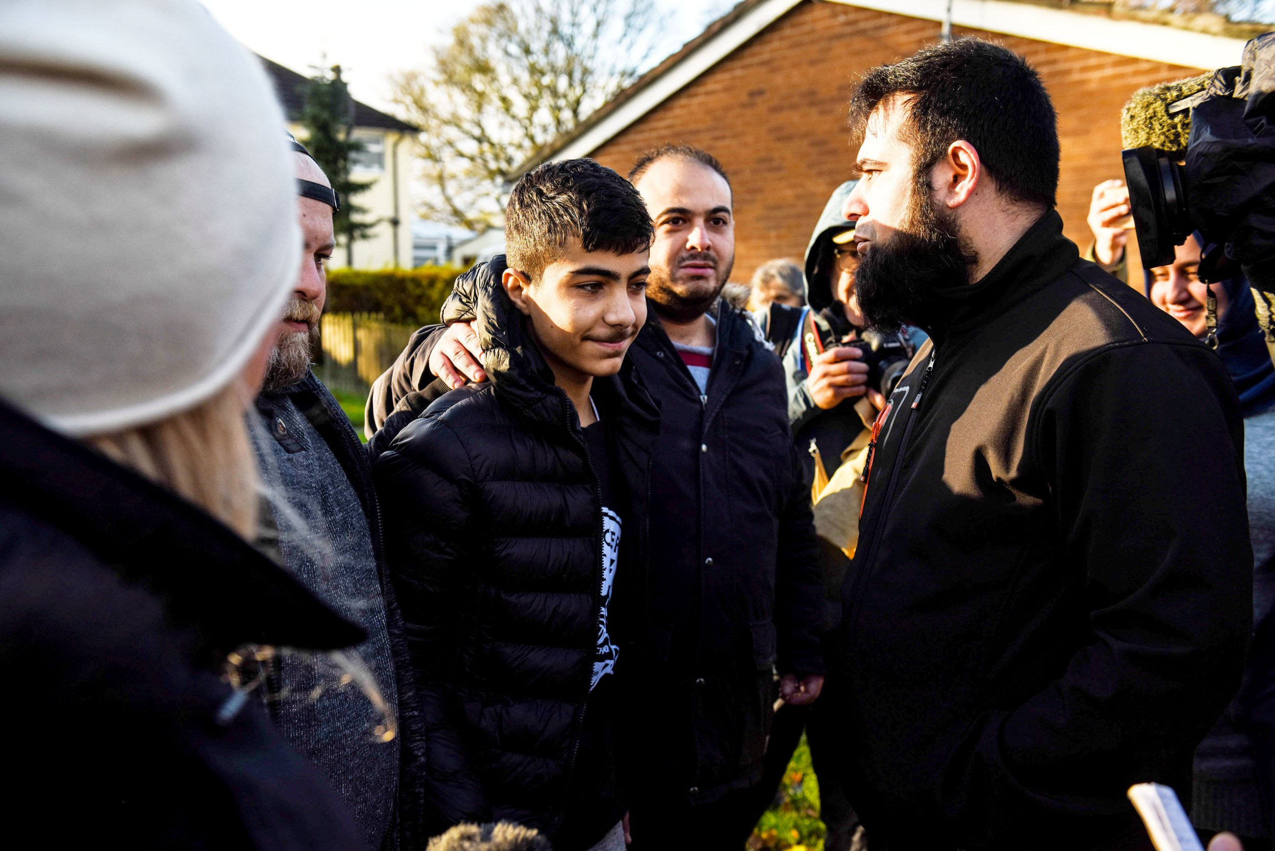 Mum of bully who 'waterboarded' Syrian boy called chip shop owner a 'P**i' and 'terrorist'