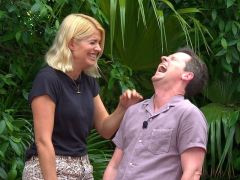 Declan Donnelly and Holly Willoughby laugh off penis drawn inside I'm A Celebrity trial