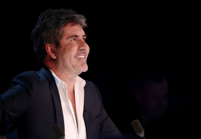 EDITORIAL USE ONLY - NO BOOK PUBLISHING Mandatory Credit: Photo by Dymond/Thames/Syco/REX/Shutterstock (9982288p) Simon Cowell 'The X Factor' TV show, Series 15, Episode 24, London, UK - 18 Nov 2018