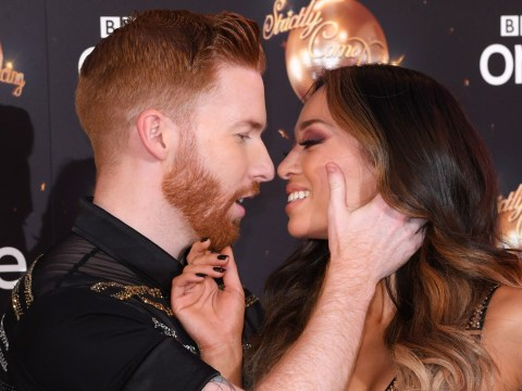 Strictly's Neil Jones insists he's never split from Katya after Seann Walsh kiss