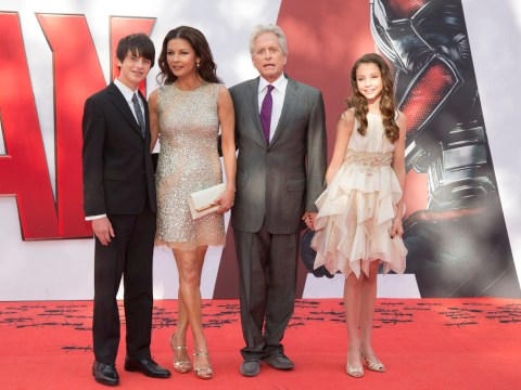 Catherine Zeta-Jones explains decision to bring children up away from 'crazy world of Hollywood'