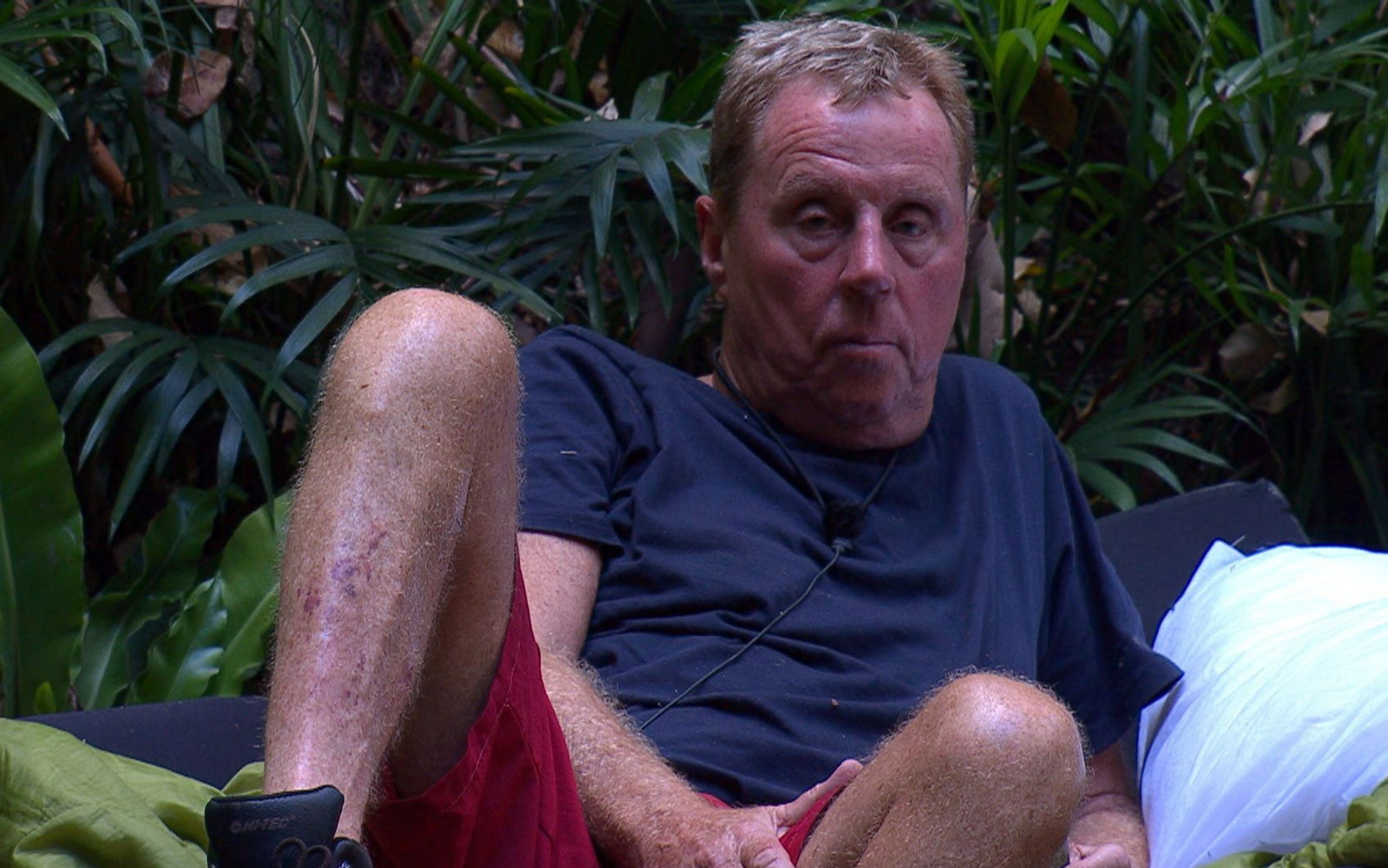 STRICT EMBARGO - NOT TO BE USED BEFORE 22:30 GMT, 01 DEC 2018 - EDITORIAL USE ONLY Mandatory Credit: Photo by ITV/REX (10010708jb) Outback Shack and Return: Short Fuse - Harry Redknapp 'I'm a Celebrity... Get Me Out of Here!' TV Show, Series 18, Australia - 01 Dec 2018