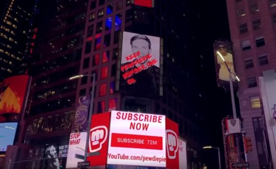 PewDiePie's rise to YouTube's top spot as sub count nears