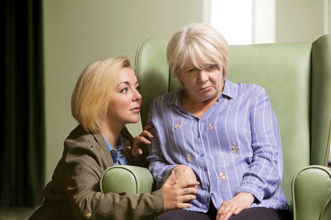 Programme Name: Care - TX: n/a - Episode: Care - Iconic (No. 1) - Picture Shows: ***ICONIC*** Jenny (SHERIDAN SMITH), Mary (ALISON STEADMAN) - (C) LA Productions - Photographer: Dan Prince