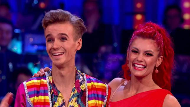 Joe Sugg and Dianne Buswell perform for the judges on 'Strictly Come Dancing'. Broadcast on BBC One Featuring: Joe Sugg, Dianne Buswell When: 02 Dec 2018 Credit: Supplied by WENN **WENN does not claim any ownership including but not limited to Copyright, License in attached material. Fees charged by WENN are for WENN's services only, do not, nor are they intended to, convey to the user any ownership of Copyright, License in material. By publishing this material you expressly agree to indemnify, to hold WENN, its directors, shareholders, employees harmless from any loss, claims, damages, demands, expenses (including legal fees), any causes of action, allegation against WENN arising out of, connected in any way with publication of the material.**