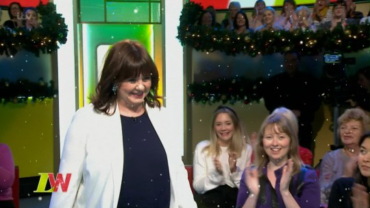 ****Ruckas Videograbs**** (01322) 861777 *IMPORTANT* Please credit ITV for this picture. 03/12/18 Loose Women - ITV1 Grabs from this afternoon's show which saw Coleen Nolan returning to the panel. The audience and fellow panelists - Ruth Langsford, Jane Moore and Janet Street-Porter - all gave her a warm reception and Coleen appeared slightly emotional by it. Office (UK) : 01322 861777 Mobile (UK) : 07742 164 106 **IMPORTANT - PLEASE READ** The video grabs supplied by Ruckas Pictures always remain the copyright of the programme makers, we provide a service to purely capture and supply the images to the client, securing the copyright of the images will always remain the responsibility of the publisher at all times. Standard terms, conditions & minimum fees apply to our videograbs unless varied by agreement prior to publication.