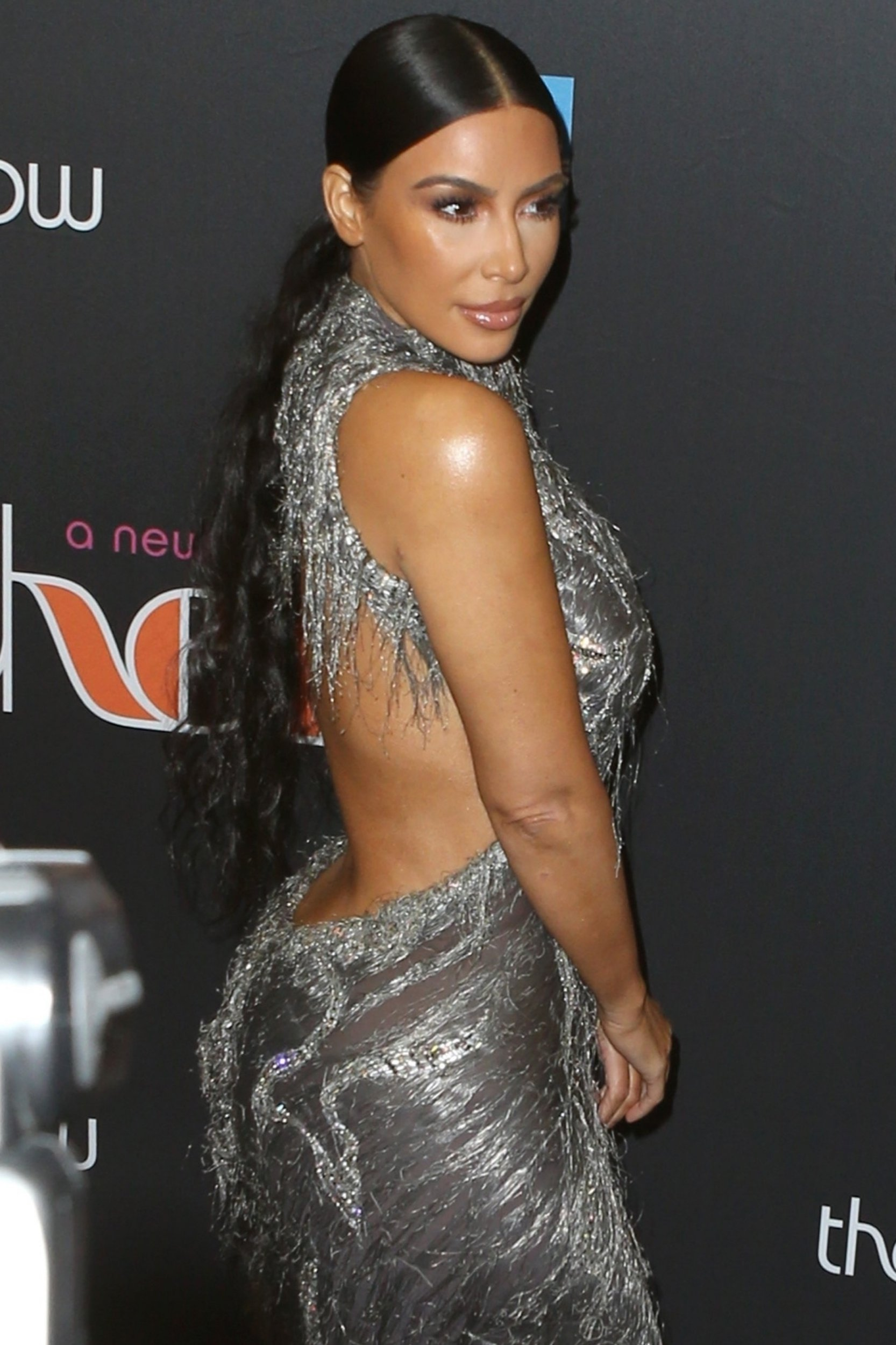"""New York, NY - Kim Kardashian and Kanye West look striking arriving at Cher's opening night at her Broadway musical, """"The Cher Show."""" Pictured: Kim Kardashian BACKGRID USA 3 DECEMBER 2018 USA: +1 310 798 9111 / usasales@backgrid.com UK: +44 208 344 2007 / uksales@backgrid.com *UK Clients - Pictures Containing Children Please Pixelate Face Prior To Publication*"""