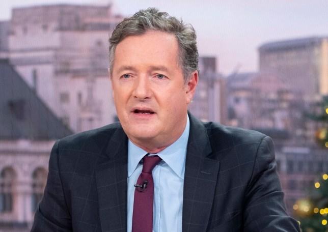 Editorial use only Mandatory Credit: Photo by Ken McKay/ITV/REX (10013031bl) Piers Morgan 'Good Morning Britain' TV show, London, UK - 04 Dec 2018
