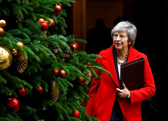 Britain's Prime Minister Theresa May leaves 10 Downing Street, London, Britain, December 4, 2018. REUTERS/Henry Nicholls