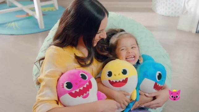 Singing baby shark toys