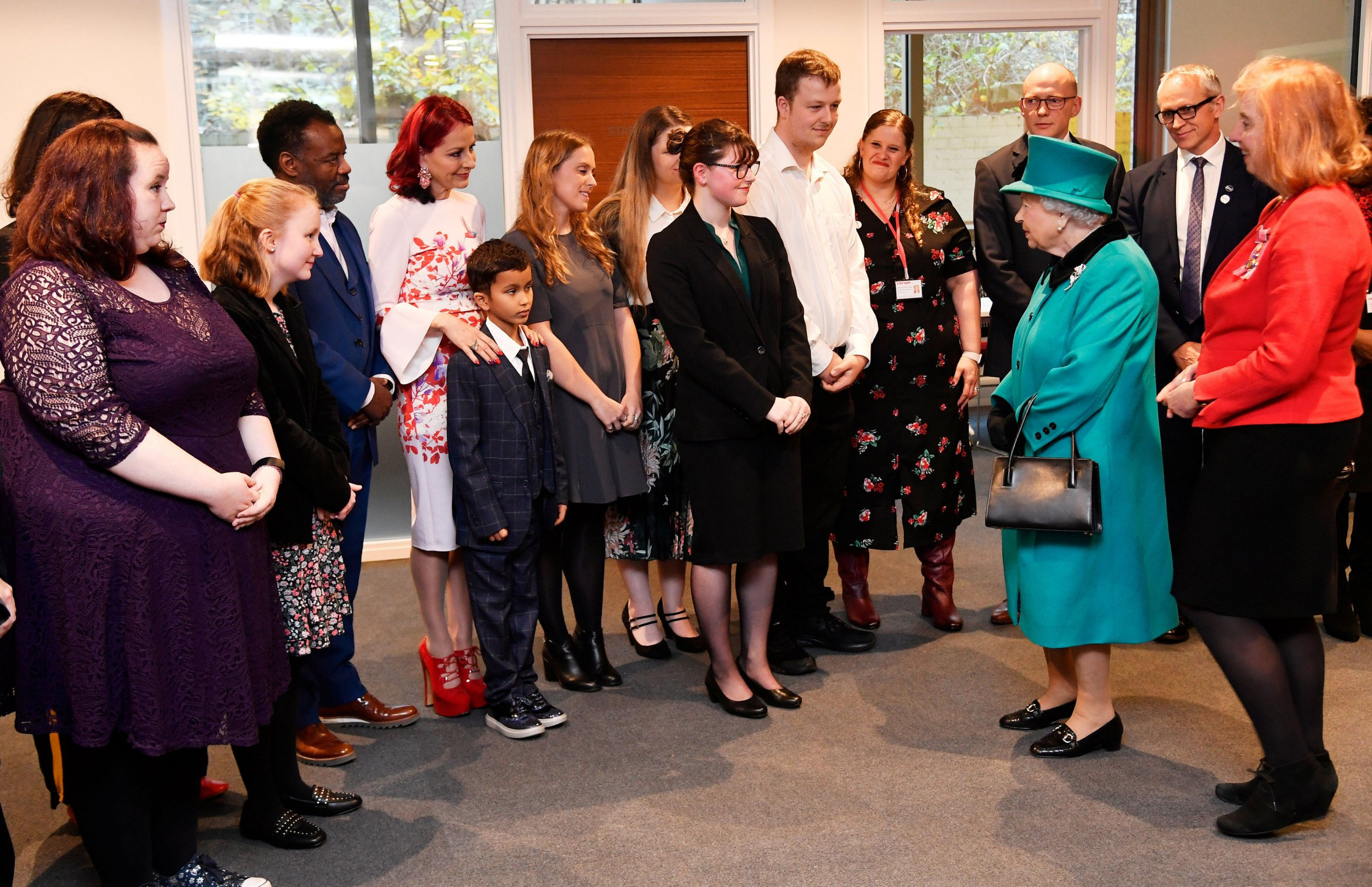 Queen Elizabeth II during a visit to Coram, the UK's oldest children's charity, to open the Queen Elizabeth II Centre at its base in central London. PRESS ASSOCIATION Photo. Picture date: Wednesday December 5, 2018. See PA story ROYAL Queen. Photo credit should read: Toby Melville/PA Wire