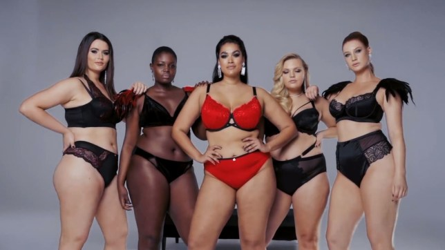 474baff9855fb Navabi launches plus size campaign to fight back against Victoria's ...