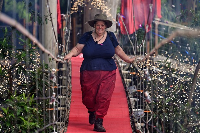 Editorial use only Mandatory Credit: Photo by James Gourley/ITV/REX (10014525c) Anne Hegerty is evicted 'I'm a Celebrity... Get Me Out of Here!' TV Show, Series 18, Australia - 05 Dec 2018