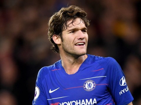 Maurizio Sarri reveals why Marcos Alonso has not been dropped for Emerson Palmieri at Chelsea