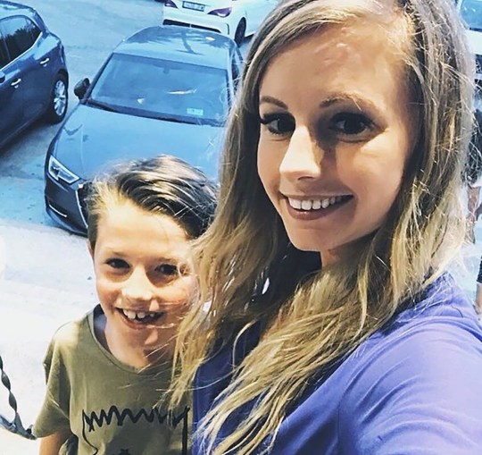 Date: 6 Dec 2018 Pictured: Lauren and her son Ben. An eight-year-old lad has been hailed a hero after steering his mum???s speeding car to safety after she had a devastating seizure at the wheel. Lauren Smith was driving her Ford Ka along the busy A120 dual carriageway in Essex when suddenly she started to black out. The 27-year-old was violently shaking and her hands were gripped to the steering wheel as the car started smashing and scraping the central reservation. Pictured: Lauren and her son Ben. N.B. We are doing a full set of posed up pictures at 1pm today with Ben and his Mum. Words: Essex News and Pictures.