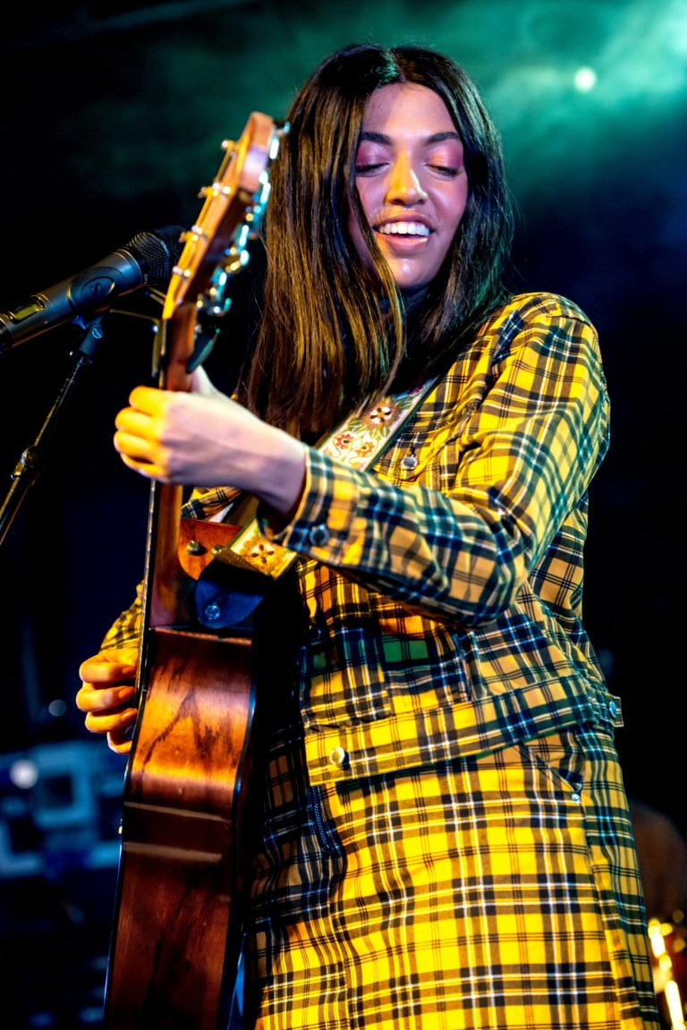 Mandatory Credit: Photo by Valerio Berdini/REX/Shutterstock (9917131j) Mahalia Mahalia in concert at The Junction, Cambridge, UK - 07 Oct 2018
