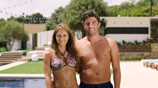 Editorial use only Mandatory Credit: Photo by ITV/REX/Shutterstock (9668299fl) Dani Dyer and Jack Fincham 'Love Island' TV Show, Series 4, Majorca, Spain - 2018