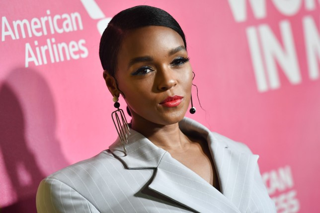 US singer/actress Janelle Monae attends Billboard's 13th Annual Women In Music event at Pier 36 in New York City on on December 6, 2018. (Photo by Angela Weiss / AFP)ANGELA WEISS/AFP/Getty Images