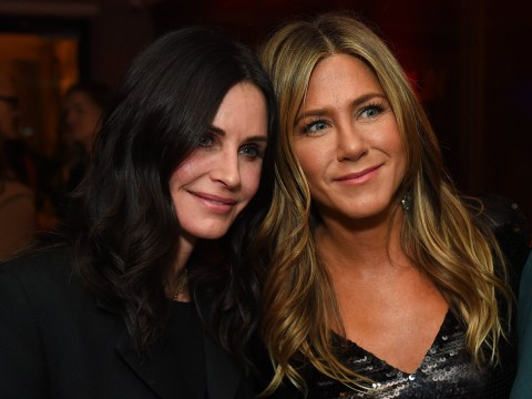 Jennifer Aniston and Courteney Cox forced to make emergency landing as private plane loses tire