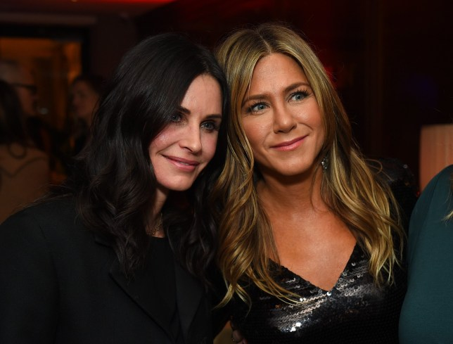 Mandatory Credit: Photo by Jordan Strauss/January Images/REX (10015900b) Courteney Cox, Jennifer Aniston 'Dumplin' film premiere, After Party, Los Angeles, USA - 06 Dec 2018