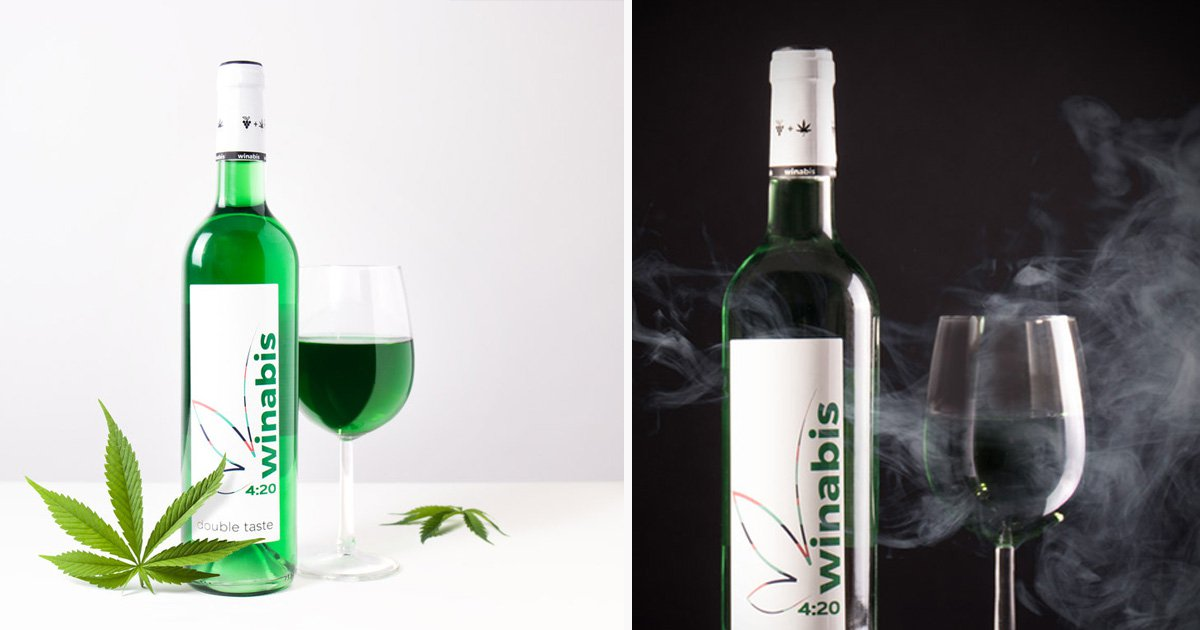 Wine infused with cannabis now exists