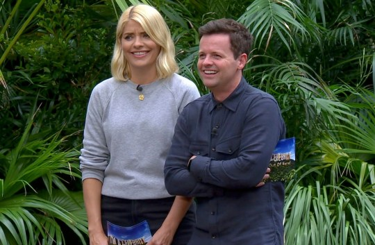 Holly Willoughby and Declan Donnelly on I'm A Celebrity in 2018