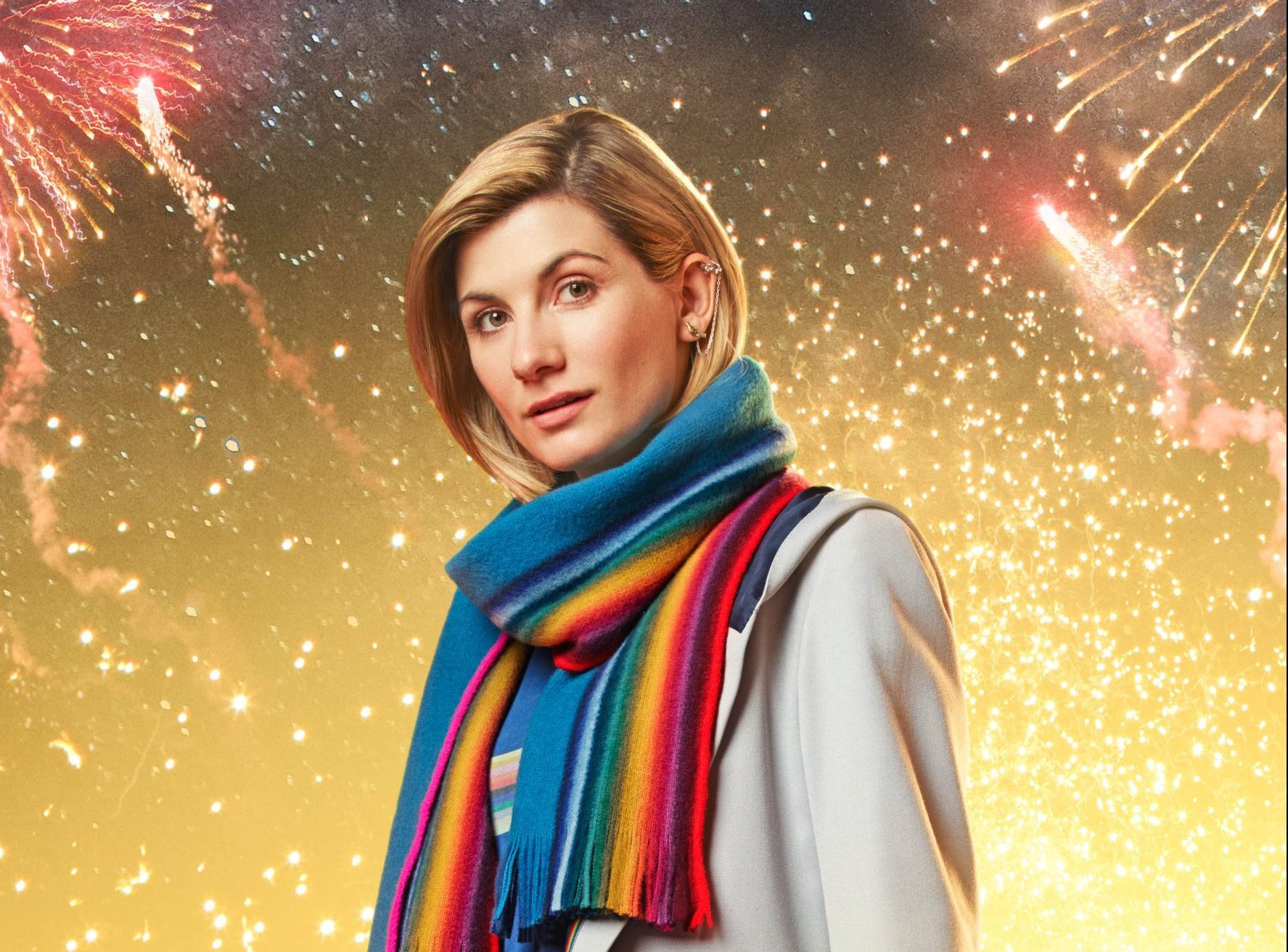WARNING: Embargoed for publication until 00:00:01 on 27/11/2018 - Programme Name: Doctor Who - TX: n/a - Episode: n/a (No. n/a) - Picture Shows: **Strictly Embargoed until 27/11/2018 00:00:01** The Doctor (JODIE WHITTAKER) - (C) BBC/ BBC Studios - Photographer: Henrik Knudson