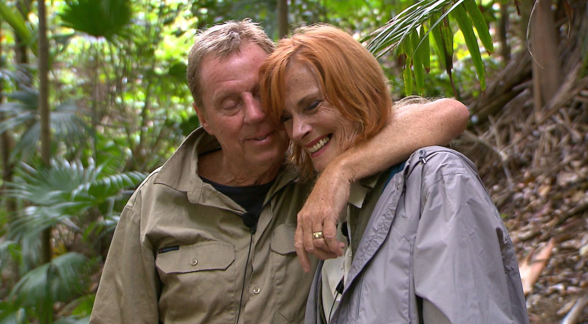 STRICT EMBARGO - NOT TO BE USED BEFORE 22:30 GMT, 07 DEC 2018 - EDITORIAL USE ONLY Mandatory Credit: Photo by REX (10018384ia) Harry Meets Sandra - Harry Redknapp and Sandra Redknapp 'I'm a Celebrity... Get Me Out of Here!' TV Show, Series 18, Australia - 07 Dec 2018